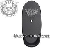 for Shield S&W Grip Extension Mag Plate L 9 40 Bk Bible Psalm 23:4