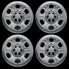 "4 CHROME 05-16 Nissan Frontier Xterra 16"" Wheel Skins Hub Caps Covers Simulators"