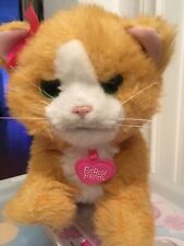 FurReal Friends Daisy Plays With Me Cat Interactive Plush Kitty Moves
