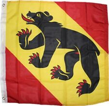 Flag of Bern 2x2 ft Swiss Canton City 100D Nylon Coat of Arms Switzerland Bear
