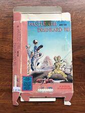Master Chu and the Drunkard Hu Color Dreams NES Nintendo Empty Box Only