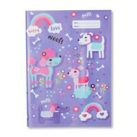 NEW Spencil Puppy Party I Dog Scrapbook School Book Cover