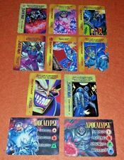 OVERPOWER Apocalypse SET 2 hero IQ 8 sp Techno-Virus Megamorph Instant Evolution