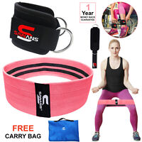 SAWANS Gym Ankle Straps Cable Attachment Machine D Ring Workout Hip Circle Bands