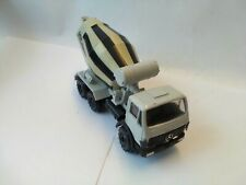 Mercedes Benz Lorry Conrad Cement Mixer Grey And Black Unboxed Excellent...