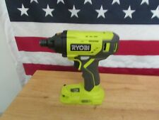 """Ryobi P235A 1/4"""" One+ 18V Lithium Ion Impact Driver (Tool Only) 341"""