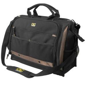 Custom Leather Craft 1539 Soft Tool Bag 58 Pockets W/ Padded Shoulder Strap