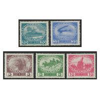 Austria 1915 Military Charity Set of 5 Stamps scott B3/7 (Mi.180/84) MUH 15-14