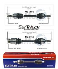 For Mazda 3 05-06 3 Sport 2009 Pair of Front CV Axle Shaft Assemblies SurTrack