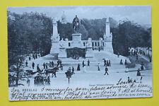 Polen AK Breslau 1905 Kaiser Wilhelm Denkmal Kunst Straße Personen Kutsche +++