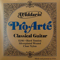 D'Addario Ej46 Pro Arté Guitarra Clásica Cuerdas - Duro