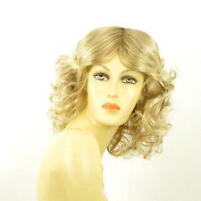 Perruque femme mi-longue blond méché blond très clair WHITNEY 15t613