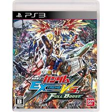 PS3 Gundam Extreme Vs. Full Boost Japan Import Free shipping