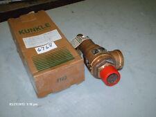 """Kunkle Pressure Relief Valve Mod #6010GF01-AM 1-1/4"""" NPT Set 100# 2926# Hr (NIB)"""