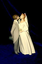 NEW LLADRO A KISS TO REMEMBER #6620 BRAND NIB BRIDE & GROOM LOVE $90 OFF F/SH
