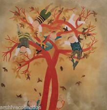 "Graciela Rodo Boulanger ""Autumn"" Etching Artwork (Four Seasons Suite)"