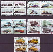 Korea - Train Series 20v (completed set-SCV 21$) 2000-2004