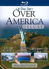 HD Over America Deluxe (Blu-ray Disc, 2010, 4-Disc Set) Brand New