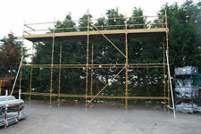 Kwikstage Scaffold 32' Long x 16' Platform Inc New Timber Battens £970.83 + Vat