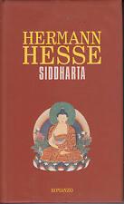 siddharta - hermann hesse - copertina rigida rosso scuro
