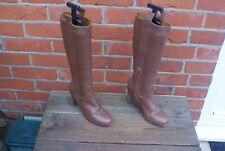 Leather Boots by M & S Knee Hi Size EU 36 UK 3.5