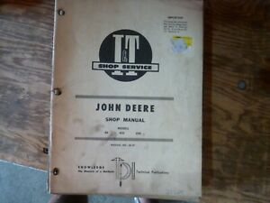 I&T John Deere 80 820 830 Standard Tractor Shop Service Repair Manual JD-17