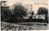 Ansichtskarte Bad Liebenstein - Blick auf die Burg - schwarz/weiß 1906 !!