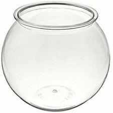 2 Gallons Fish Bowl Glass Habitat Aquarium Durable Interior Decorations