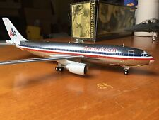 (Polished Metal) BRAND NEW JC Wings  American Airlines Airbus A300 1/200 Scale