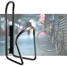 MTB Bike Cycling Water Drink Bottle Holder Bracket Aluminium Metal Cage Black