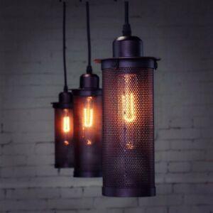 Metall Retro Vintage Industrial Deckenlampe Hängeleuchte Industrielampe E27