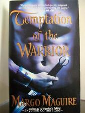 Margo Maguire *Temptation of the Warrior*#2 Warriors-Timetravel Romance Fiction!