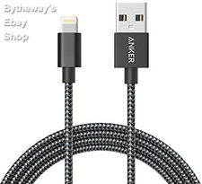 iPhone Charger Anker 6ft Nylon Braided USB iPhone Cable Apple MFI Certified