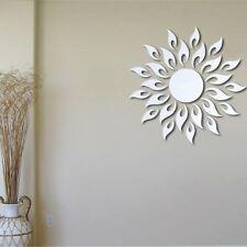 Sonnenblume Feuer Wandtatoo Wandsticker Wanddeko Wandaufkleber Spiegel Haus Deko
