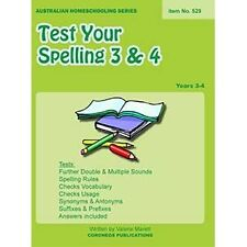 Test Your Spelling Years 3 and 4