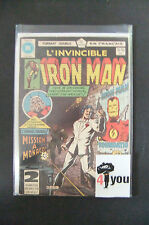 3.5 Vg- Very Good- Iron Man # 125 Canadian Euro Variant Ow/Cp Yop 1980