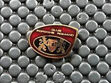 PINS PIN BADGE CAR PORSCHE CLUB ROMAND