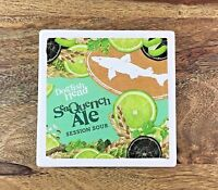 Dogfish Head Brewery Stone SeaQuench Ale Coaster Brewing Beer 4in x 4in