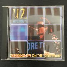 "U2 ""WATCH MORE TV"" RARE CD LIVE MADE IN ITALY"