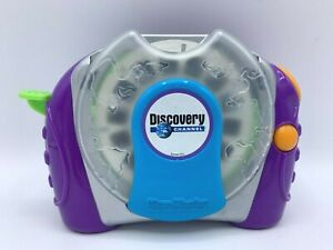 View-master 3D Talking Discovery Channel Viewer Purple Green Blue Orange Tested