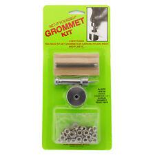 """C.S. Osborne Set-It-Yourself Grommet Kit K231-00, 3/16"""" Hole, W/ Nickel Grommets"""