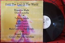 UNTIL THE END OF THE WORLD **OST** RARE 1991 LP R.E.M. Depeche Mode U2 Nick Cave