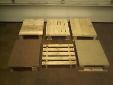je 20Stk.kleine Holzpaletten 65x45cm Einwegpaletten Paletten Holzpalette Palette