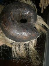 FOLK ART   Voodoo Fetish Sculpture from New Orleans Mardi Gras vintage mask