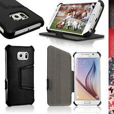 PU Cuero Funda Carcasa Piel para Samsung Galaxy S6 SM-G920F Soporte Case Cover