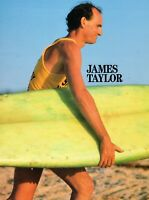 JAMES TAYLOR 1986 THAT'S WHY I'M HERE WORLD TOUR CONCERT PROGRAM BOOK-NMT 2 MINT