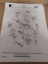 TECUMSEH MASTER Parts List-Centura i modelli