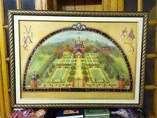 Coloured Photolithograph Reproduction, The Governor's Palace,Alexandra Churchill