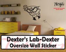 Dexter's Lab -Dexter Custom Wall Oversize Wall Sticker