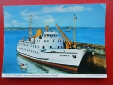 POSTCARD R.M.V. SCILLONIAN III - PENZANCE HARBOUR AND MOUNT'S BAY